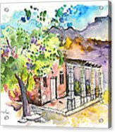 Cottage In Barca De Alva Acrylic Print