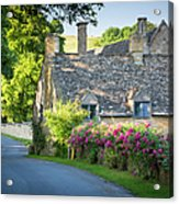 Cottage In The Cotswolds Acrylic Print