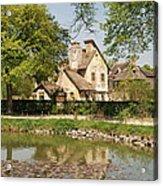 Cottage In The Hameau De La Reine Acrylic Print