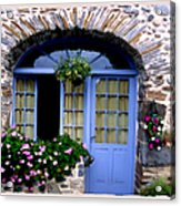 Cottage In Village St Jean Les Buzy Acrylic Print by Linda  Parker