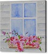Cottage Window Acrylic Print