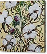 Cotton #1 - King Cotton Acrylic Print