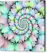Cotton Candy I Acrylic Print