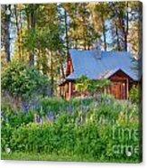 Cottonwood Cottage Spring 2014 Photographs Taken By Omaste Witko Acrylic Print