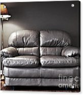 Couch And Lamp Acrylic Print