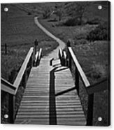 Coulee Stairs Acrylic Print
