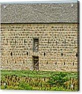 Council Grove Kansas Stone Barn Acrylic Print