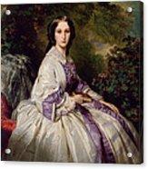 Countess Alexander Nikolaevitch Lamsdorff. Maria Ivanovna Beck Acrylic Print