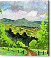 Country Acrylic Print