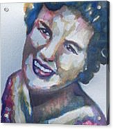 Country Artist Patsy Cline Acrylic Print