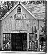 Country - Barn Country Maintenance Acrylic Print