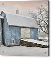 Country Blue Acrylic Print