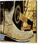 Country Blues Acrylic Print