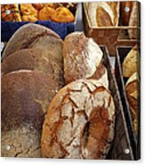 Country Bread And Muffins Acrylic Print