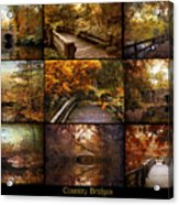 Country Bridges Acrylic Print