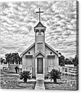 Country Chapel Acrylic Print
