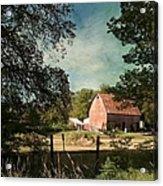 Country Charm Acrylic Print