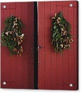 Country Christmas Acrylic Print