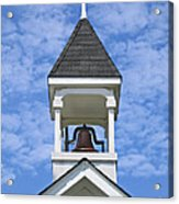 Country Church Bell Acrylic Print