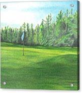 Country Club Acrylic Print
