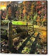 Country Dawn Acrylic Print