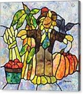 Country Fall Acrylic Print