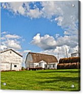 Country Farm Acrylic Print by Frozen in Time Fine Art Photography