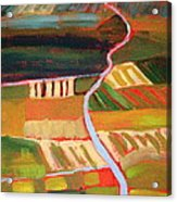 Country Fields Acrylic Print