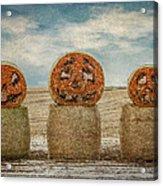 Country Halloween Acrylic Print