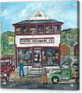 Country Hardware Store Acrylic Print