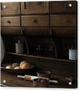 Country Kitchen Acrylic Print