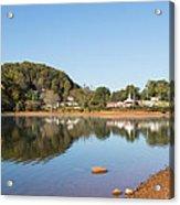 Country Lake Scene Acrylic Print