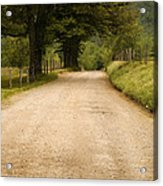 Country Lane - Smoky Mountains Acrylic Print by Andrew Soundarajan