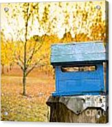 Country Letterbox Acrylic Print