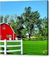 Country Living Acrylic Print