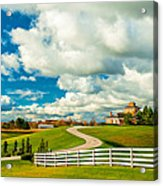 Country Living Painted Acrylic Print