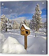 Country Mailbox Acrylic Print