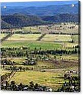 Country Panorama Acrylic Print