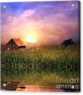 Country Paradise Acrylic Print