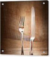 Country Place Setting. Acrylic Print