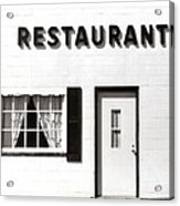 Country Restaurant Acrylic Print
