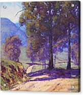 Country Road Oberon Acrylic Print by Graham Gercken