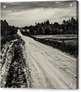 Country Road Take Me Home 1. Acrylic Print