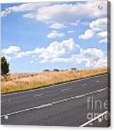 Country Road Acrylic Print by Tim Hester