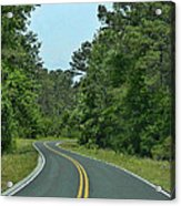 Country Road Acrylic Print by Victor Montgomery