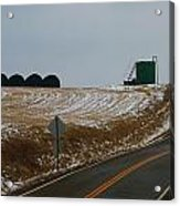 Country Roads In Holmes County Acrylic Print