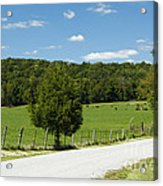 Country Roads Acrylic Print