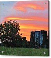 Country Sky Acrylic Print