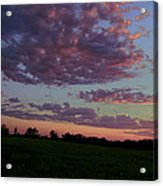 Country Sky Acrylic Print by Jame Hayes
