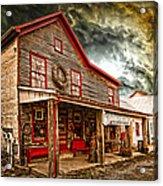 Country Store Washington Town Ky Acrylic Print